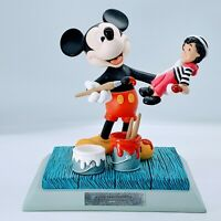 2000 DISNEYANA CONVENTION SMILE MEANS FRIENDSHIP SIGNED MICKEY MOUSE FIGURINE L.