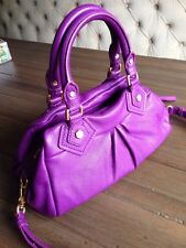 BRAND NEW! MARC BY MARC JACOBS CLASSIC Q BABY GROOVEE VIOLET purse $378