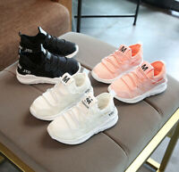 Kids Boys Girls Shoes Child Baby Casual Breathable Sports Running Sneakers Shoes