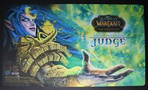 World of Warcraft WoW TCG Tournament Judge Playmat Kaelyn