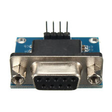 RS232 To TTL Converter Module Serial Module DB9 Connector 3.3V-5.5V Arduino SD