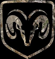 DODGE RAM REALTREE CAMO PICK UP OFF ROAD SOUTHERN TRUCK DIESEL DECAL COUNTRY