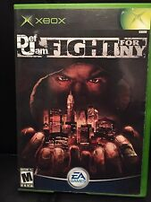 def jam fight for ny xbox - NO GAME, Case And Manual Only See Pictures
