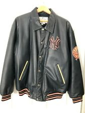 NY Yankees All Leather Jacket (L)