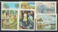 Monaco Scott 914-19 Mint NH (Catalog Value $19.50)