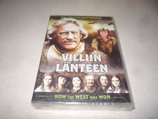 HOW THE WEST WAS WON :  SEASON 4 DVD BOX SET - BRAND NEW AND SEALED 5 DISC SET