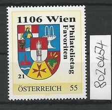 Österreich PM personalisierte Marke Philatelietag 1106 WIEN 8020454 **