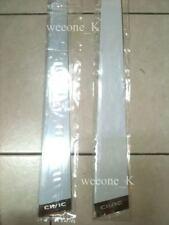 STAINLESS STEEL 4 DOOR PILLARS FOR HONDA CIVIC 2000 2001 2002 2003 2004 2005