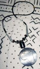 recycled boho ethnic tribal Africa jnca17 African Cooking Pot Pan Necklace new