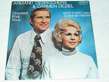 ARMAND DESROCHERS & CARMEN DEZIEL Chantent Pour Vous LP NEW SEALED SS Quebec