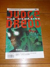 JUDGE DREDD THE MEGAZINE Comic - Series 1 - No 6 - Date 03/1991 - UK Comic