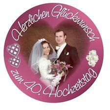 Tortenaufleger Hochzeit Zuckerfolie Durchmesser 20 cm oder eckig 20 x 28 cm