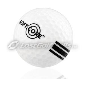96 New Softcore White Range Golf Balls