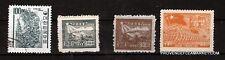 96T3 CHINE  4 timbres (3 neufs,1 oblitéré) 1949
