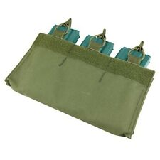 Condor Outdoor 5.56 Rifle Magazine Tactical Insert Bungee Triple Pouch OD Green