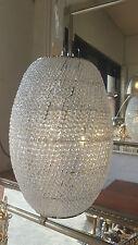Modern Beaded Crystal Pendant Chandelier