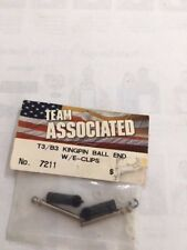 NEW King Pin Ball End with Clips Suit B3/T3 Team Associated part #7211