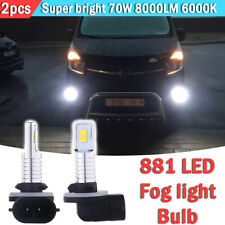 2pcs 881 889 LED Fog Light Bulbs Conversion Kit OEM Lamp 35W 6000K High Power