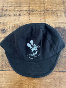 Baby Boy 12-18 months Disney Mickey Mouse Black Baseball Hat Combine Post