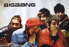 "BIG BANG ""GROUP WEARING PUFFY JACKETS"" POSTER FROM ASIA - Korean Boy Band, K-Pop"