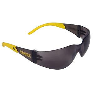 Dewalt Protector ToughCoat Impact Scratch Resistant Safety Sun Glasses Smoke