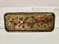 Vintage Tin-Advertising/Sweet/Biscuit-Mcvities Price Edinburgh-Parrots/Birds