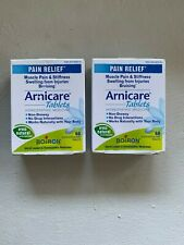Boiron Arnicare Pain Relief Muscle Pain Homeopathic Medicine Lot of Two Exp 9/20