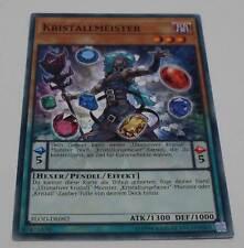 Yu-Gi-Oh Karte - Kristallmeister - Hexer / Pendel / Effekt FLOD-DE092 Yugioh Neu
