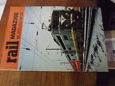 8µ? Revue Rail Magazine n°23 Voiture Talbot sur CGB T.AR Nord Fleche d'Or  TENDE