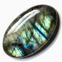 Cts. 82.65 Natural madagascar Labradorite Cabochon Oval Cab Loose Gemstones