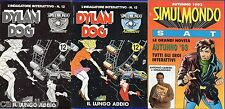 DYLAN DOG l'indagatore interattivo n. 12 - non contiene dischetto