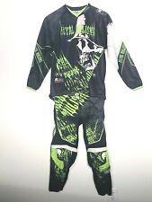 Metal Mulisha Boys Black&Green Motocross Racing Pants (26) & Shirt (Xl) Lot of 2