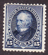 US Scott 227 old 15c Clay small Banknote issue M/NG CV $225