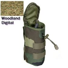 Woodland Digital Camo Molle für Flasche Airsoft Paintball Tactical Softair
