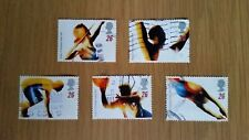 Complete used GB stamp set - 1996 Olympics & Paralympic Games