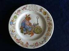 "Wedgwood Oakapple Wood Uncle Lop Ear 6 3/4"" plate (few scratches)"