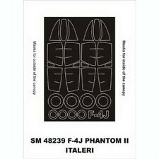 Montex 1/48 F4J Phantom Paint Mask for Italeri kit (outside-inside)