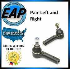 For VW Beetle Golf Jetta 1.8L 1.9L 2.0L PAIR Outer Tie Rod End Ball Joint NEW
