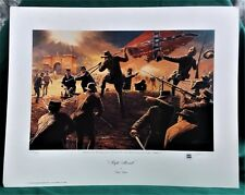 """VTG COLLECTIBLE DALE GALLON """"NIGHT ASSAULT"""" PRINT SIGNED & NUMBERED COA"""