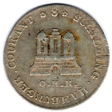 Hamburg-Stadt, 8 Schilling 1797 OHK, ss