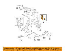 TOYOTA OEM Yaris-Taillight Tail Light Lamp Bracket Mount Pocket Left 6106452020