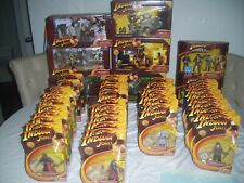 Near Complete set of 2008 Hasbro Indiana Jones HUGE RARE LOT Exclusives - SEALED