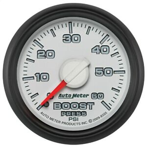 AutoMeter 8505 Gen 3 Dodge Factory Match Mechanical Boost Gauge