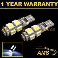 2X W5W T10 501 CANBUS ERROR FREE WHITE 9 LED SIDELIGHT SIDE LIGHT BULBS SL101703
