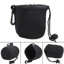 S/M/L/XL Neoprene DSLR Lens Soft Pouch Case Bag for Canon Nikon Sony DSLR Camera
