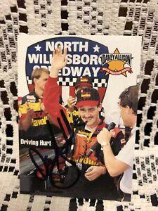 Davey Allison  TEXACO Set 1992 NASCAR MAXX autographed card
