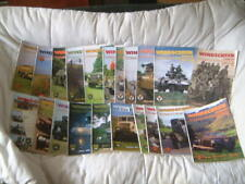 21 issues of Windscreen MVT Military Vehicle Trust (334) Jeep Land Rover