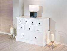 Sideboard >Provence2< mit 9 Schubladen Kommode Lowboard weiß UVP 329€ 1d520