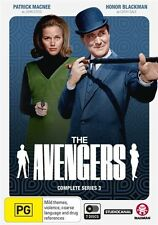 The Avengers - Complete Series 3 NEW R4 DVD