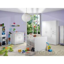 Babyzimmer Kinderzimmer Kindermöbel Isabel WEISS 8tlg.